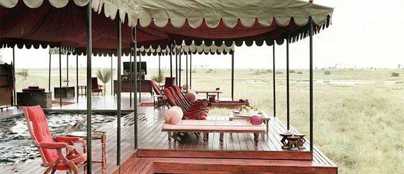 Jack's Camp in Botswana's Makgadikgadi