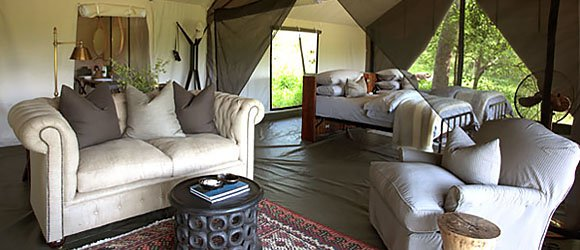 Machaba Camp in Moremi Game Reserve