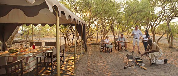 Savute Under Canvas in Chobe National Park