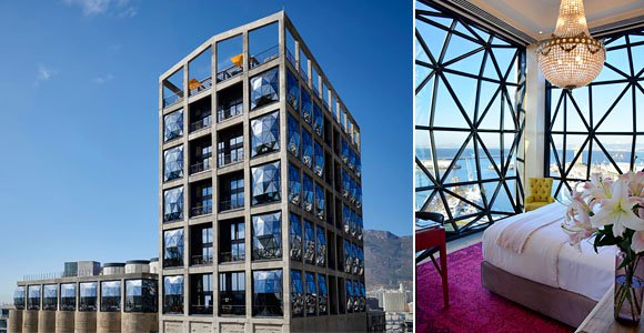 The Silo Hotel in Cape Town's V&A Waterfront