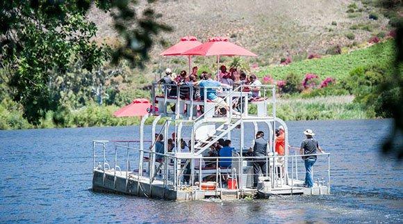 Viljoensdrift river cruise
