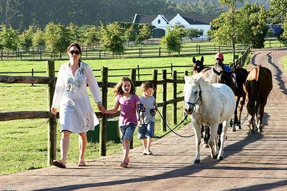 Horse riding at Kurland