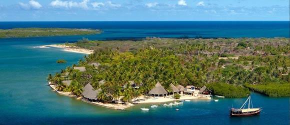 Kenya beach lodge: Manda Bay