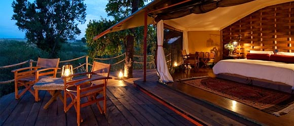 Mara Plains Camp tented suite