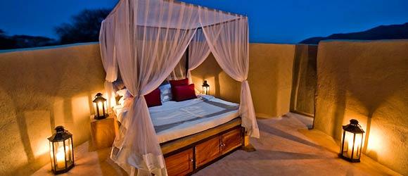Star bed at Ol Donya Lodge