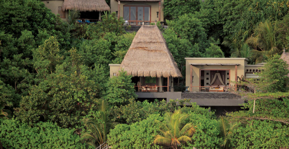 Pure privacy at Maia Luxury Resort