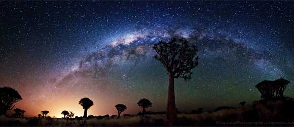Night skies in Namibia