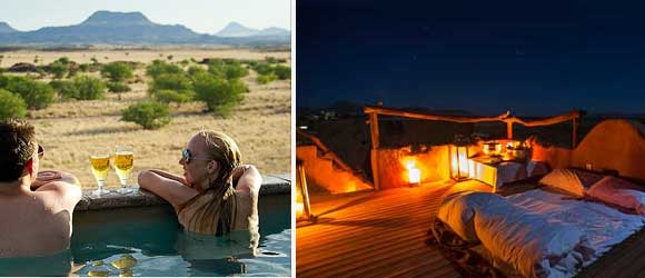 Namibia romantic safari