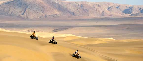 Quad biking in remote north-west Namibia