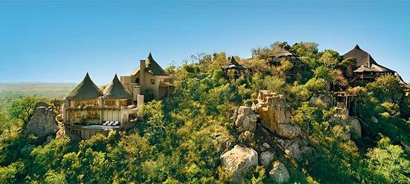 Ulusaba Lodge in the Sabi Sands