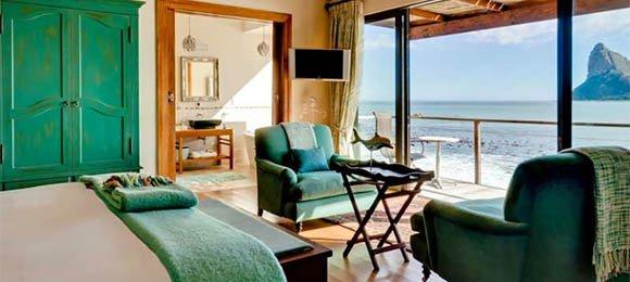 Seaside suite at Tintswalo Atlantic