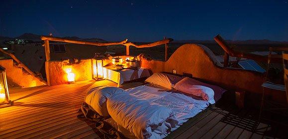 Little Kulala Star Bed, Sossusvlei