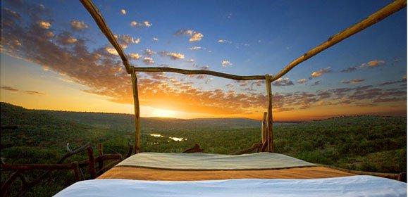 Loisaba star bed, Kenya