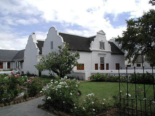 Cape Dutch House by Anne-Lise Heinrichs