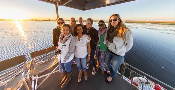 River safari in Chobe