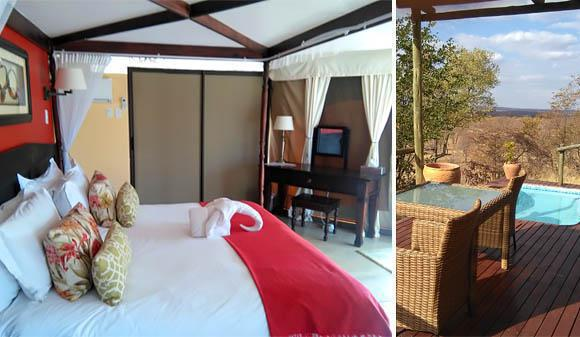 The Elephant Camp, Victoria Falls
