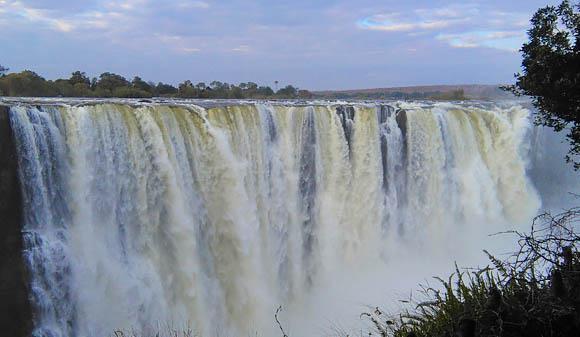 Main Falls at Victoria Falls