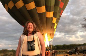 Hot Air Balloon Ride in the Northern Serengeti