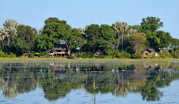 Jao Camp in the Okavango