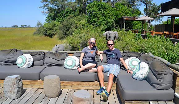 Lounge at Vumbura Plains