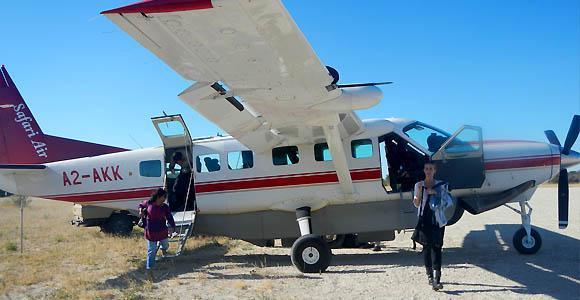 Getting around Botswana
