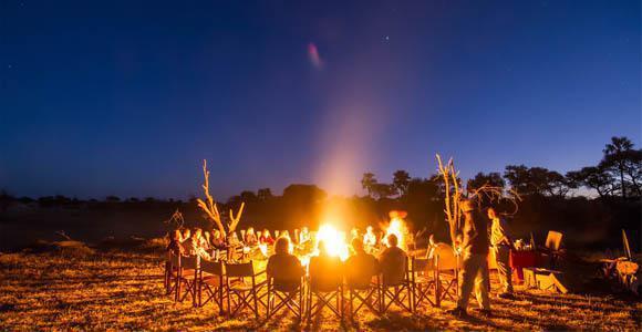 Evenings in the Kalahari
