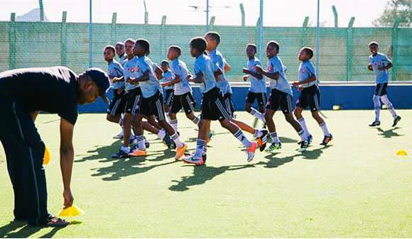 Project Playground Langa football team