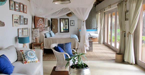 Honeymoon House at Tongabezi
