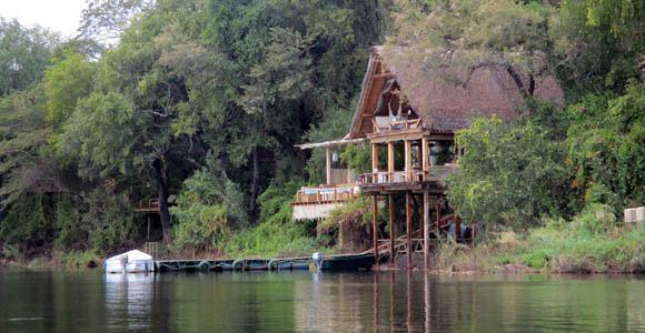 Tongabezi riverside lounge