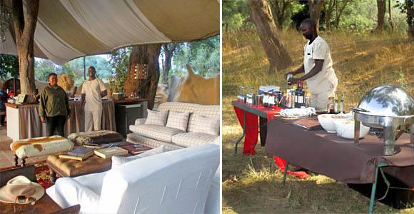 Tented luxury at Chongwe