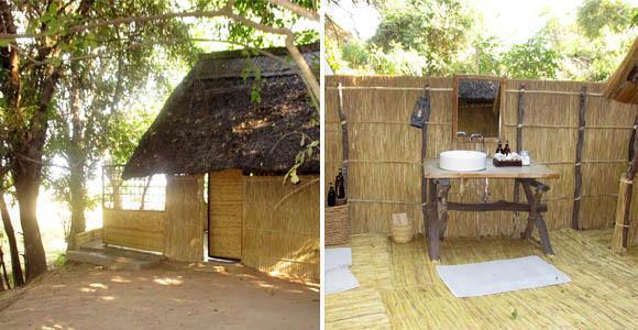 Luwi Bush Camp in the South Luangwa