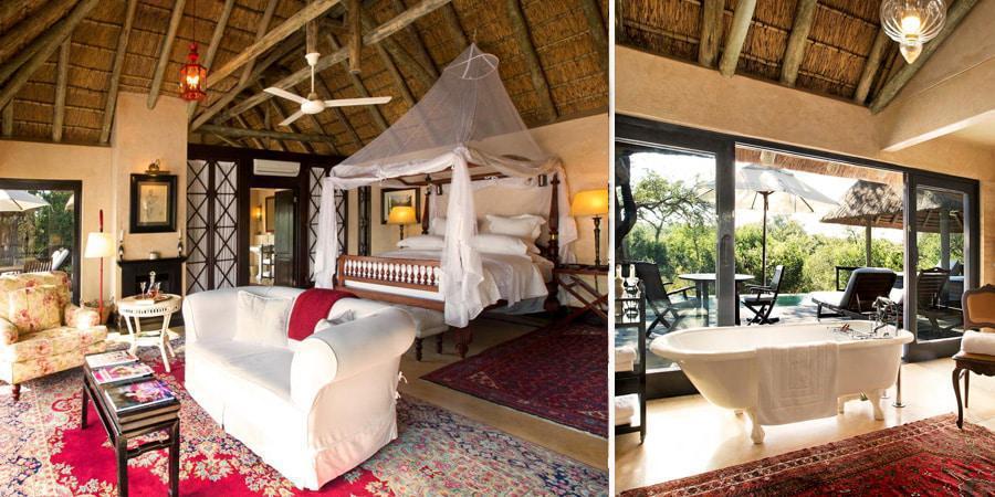 Royal Malewane luxury suite