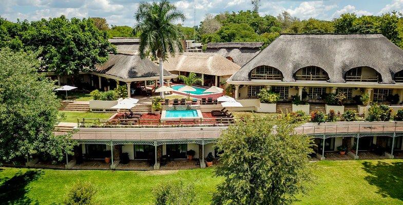 Ilala Lodge in Victoria Falls Town