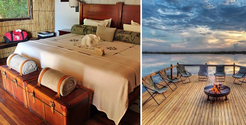Xugana Island chalet and deck