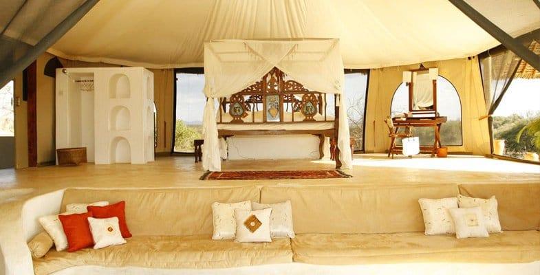 Sasaab Lodge tent