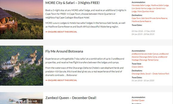 Giltedge Travel Deals
