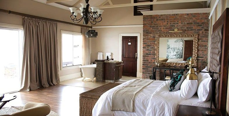 Superior suite at Zambezi Grande Lodge
