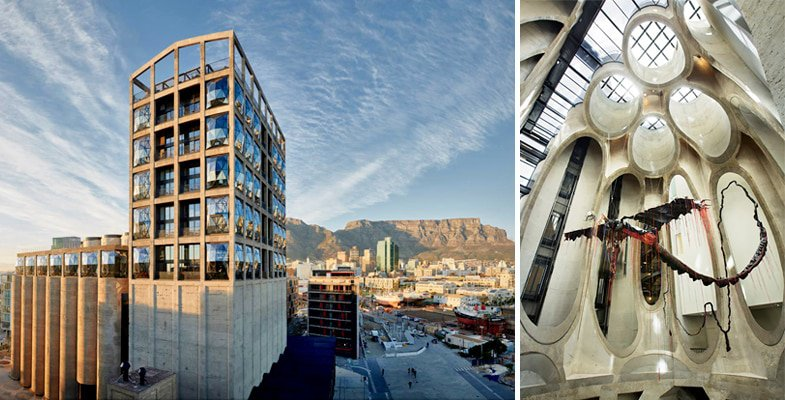 Zeitz MoCAA Gallery Cape Town V&A Waterfront