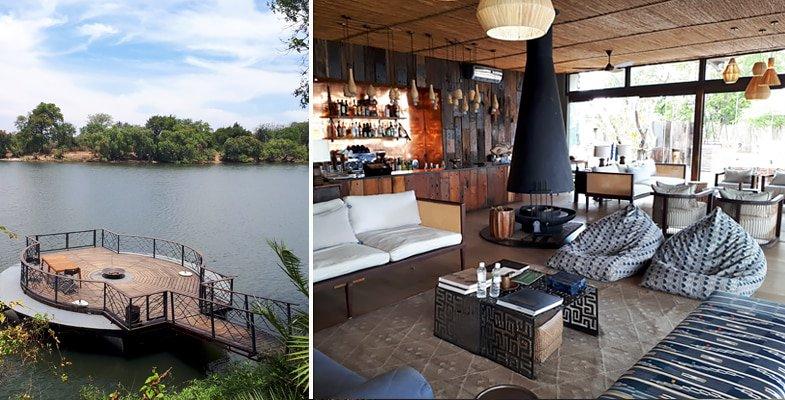 Thorntree River Lodge on the Zambezi River