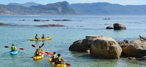 Escape and Explore Around the Cape