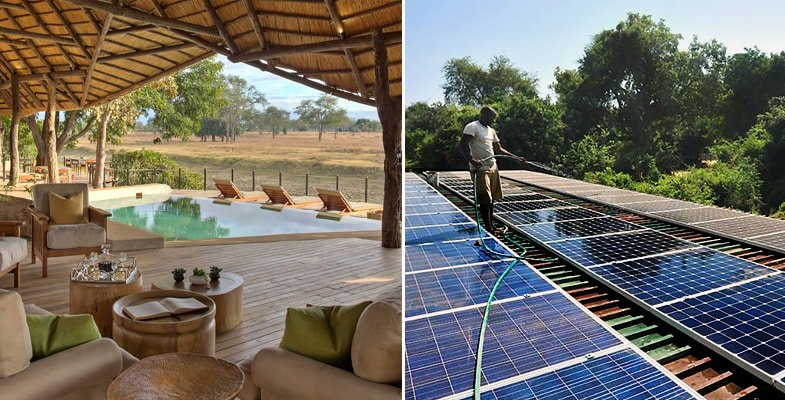 Lion Camp is the only lodge in the South Luangwa that is carbon neutral