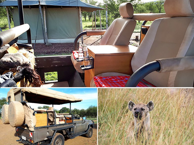 Serengeti game drive at One Nature Nyaruswiga