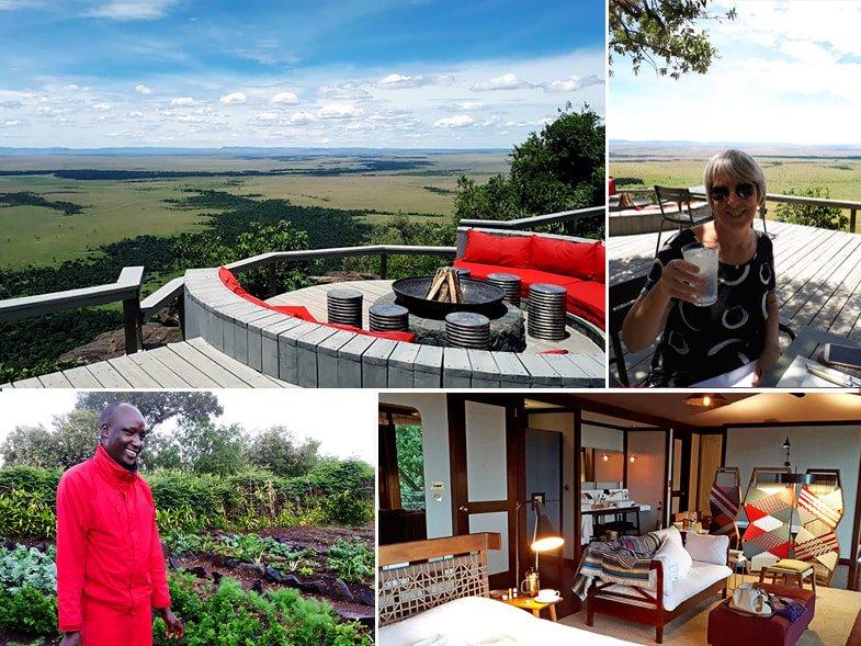 Anagma Mara overlooking the Masai Mara