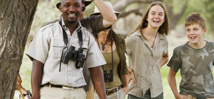 Family Safari in Botswana: Moremi, Okavango & Dinaka