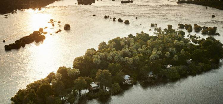 Victoria Falls River Lodge Island Treehouse Suites