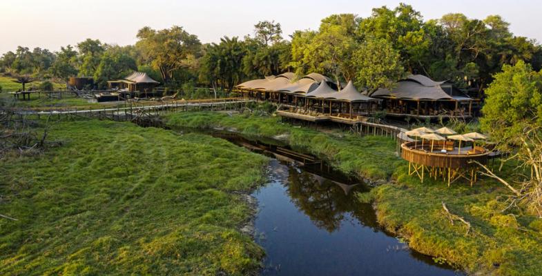 New African lodges - Xigera Safari Lodge
