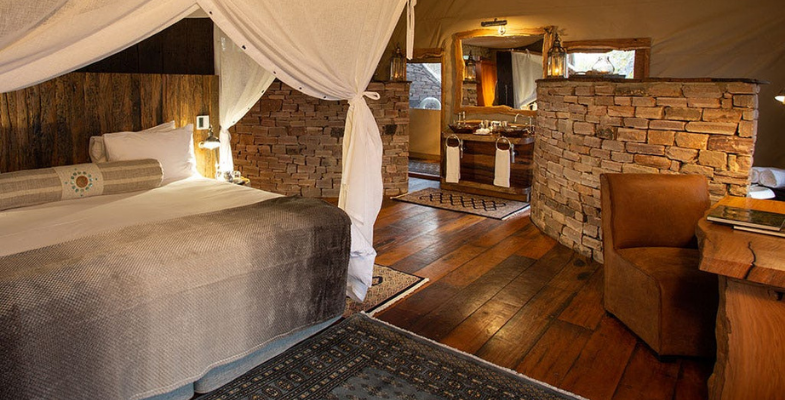 New African lodges - Tembo Plains Camp